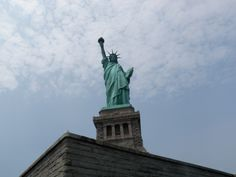 Statue of Liberty.  It was pretty awesome standing right under her