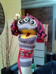 Títere de calcetín de Ollimantzin