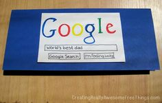 If Google says your dad is the best, it must be true, right? :)