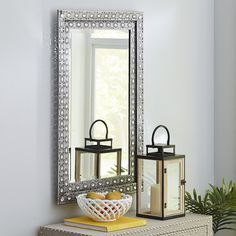 Luminous Metal Mirror