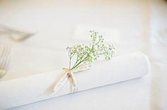 napkins. I know this doesn't seem to go with your theme but its so simple and cute I had to post it