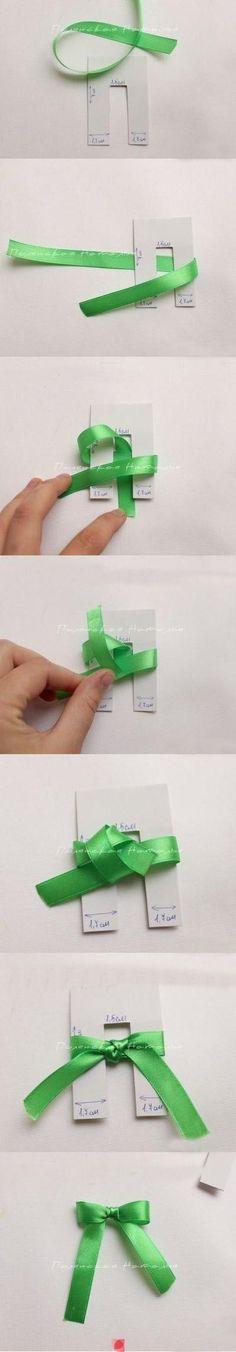 How to tie perfect bows & great tutorial for floral bows ☆•★Teresa Restegui http://www.pinterest.com/teretegui/★•☆: