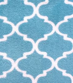 Shop fabric online by the yard. Jo-Ann's has the largest selection of fabric in unique prints and materials. Find fabrics for quilting, upholstering, and decorating. Online Craft Store, Craft Stores, Fleece Fabric, Cotton Fabric, Teal Background, Quatrefoil, Joanns Fabric And Crafts, Crafty, Handmade