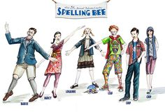 The 25th Annual Putnam County Spelling Bee - Costume on Behance