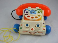 The eyeballs on this phone would go up and down in the sockets,  so it looked like it was having a seizure as you pulled it - lol