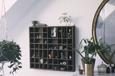 Home Décor Inspiration: Vintage Display Shelf There's a new piece of décor in my home that has...