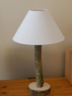Your place to buy and sell all things handmade Tree Base, Ash Tree, Brass Lamp, Table Lamps, Tree Branches, Light Bulb, Upcycle, Handmade, Stuff To Buy