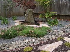 Cheap Landscaping Ideas For Back Yard | gravel ideas for backyard landscaping with stone decoration x close