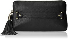 MILLY Astor Clutch, Black, One Size * You can get additional details at the image link.