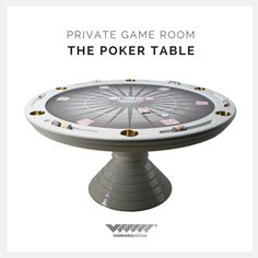 We are so proud to present you our New Round Poker Table with stainless steel profiiles and golden cup holders. Your private game room has never been so exciting! #vismaradesign #pokertable #luxury #luxuryfurniture #italianfurniture #madeinitaly #gameroom #privategameroom