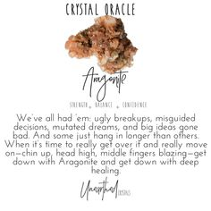Aragonite Crystal Meaning