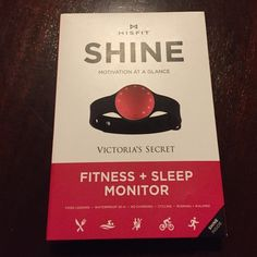 SHINE Fitness & Sleep Monitor Misfit SHINE fitness and sleep monitor. Great for food logging, cycling, running and walking. Waterproof 50m. No charging. A perfect personal activity monitor. Tracks progress, get motivated and reach your goals! Compatible with many devices and wireless sync. Misfit SHINE Accessories