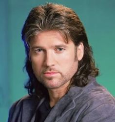 Billy Ray Cyrus men mullet hairstyle photo  THE MULLET