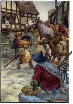 David T. Wenzel - The Wizard's Tale - page 3 Muddle Brings the Horses