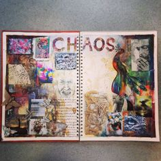 Exam sketchbook on Chaos