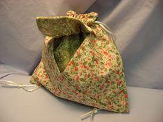 Origami Folhas de Arte: Bolsas de Origami em Tecido