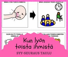 Tunnetaidot Occupational Therapy, Speech Therapy, Social Skills For Kids, Teaching Kindergarten, Mathematics, Psychology, Mindfulness, Feelings, Comics