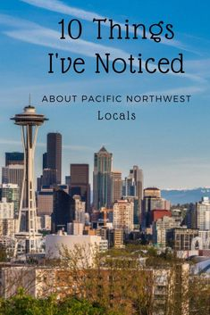 Living in the Pacific Northwest can be crazy, fun, dreary, interesting, weird...but NEVER boring.