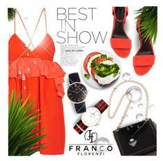 """Franco Florenzi IV"" by monazor ❤ liked on Polyvore featuring Victoria, Victoria Beckham, Alexander Wang, watch, bracelet, accessories and francoflorenzi"