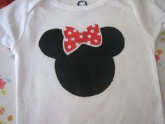 Tutorial - will have to make this for my niece for her birthday - she LOVE Minni Mouse
