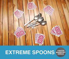 EXTREME SPOONS is one of the greatest youth group games ever. Youth Ministry Ideas and Games.
