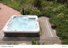 Elegant sch ne Natur Whirlpool Garten traumhafte Aussicht Whirlpools outdoor Pinterest