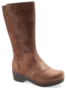 The Dansko Crepe Boot from the Stapled Clog collection. MSRP $210