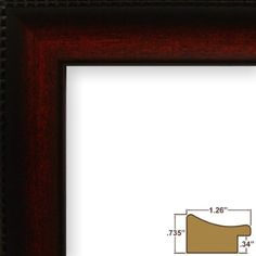 Craig Frames Jj3042 11 By 17 Inch Picture Frame Smooth Finish Smooth Finish 1 26 Inch Wide Dark Mahogany On Amazon Poster Frame Picture Frames