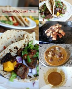 #Korean #BBQ #Lamb #Tacos - A mouth-watering experience for bbq and taco lovers.