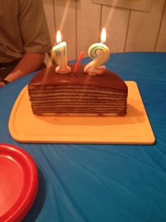 Lawson's 6 month / half birthday cake!