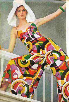 Agneta Frieberg. PUCCI 1960s