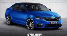 Facelifted Skoda Octavia Gets The RS Treatment