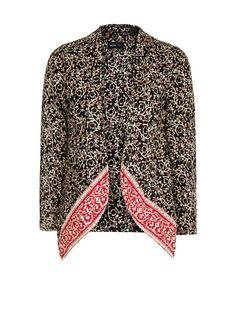 MANGO - Boho inspired cotton jacket