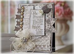 Be Strong by AndreaEwen - Cards and Paper Crafts at Splitcoaststampers