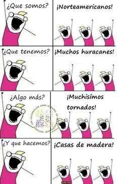 ¡¡Americanos!! #humor