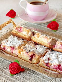 New Recipes, Cooking Recipes, Favorite Recipes, Russian Recipes, No Cook Meals, Tart, Dessert Recipes, Food And Drink, Healthy Eating