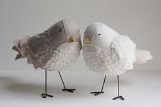 Alexander & Pearl | Handmade Birds No.59 and 60 / Created Ap… | Ashley Anna Brown Durand | Flickr
