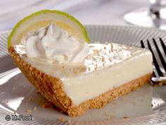 Sweet 'n' creamy with a graham cracker crust, this recipe for Joe's Key Lime Pie is your post-dinner guilty pleasure.