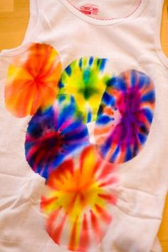 So much better than the tie die we used to do!