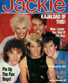 KajaGooGoo on the cover of Jackie Magazine.
