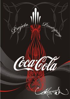 "COCA-COLA ~ :: Coca-Cola ""Pinstriping Coke"" by ~BATATA2010 on deviantART"