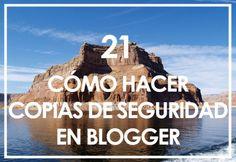 Cómo hacer una copia de seguridad en Blogger - Mamá, quiero ser blogger