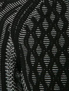 T By Alexander Wang Cable Knit Honeycomb Pattern Cardigan - Hampden - Farfetch.com