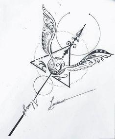 Harry Potter Tattoos, Harry Potter Artwork, Harry Potter Drawings, Harry Potter Tumblr, Harry Potter Wallpaper, Harry Potter Diy, Bild Tattoos, Love Tattoos, Body Art Tattoos