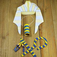 Bricolage pour les enfants - les accessoires du pharaons