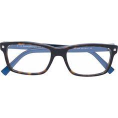 a473208826 Ermenegildo Zegna tortoiseshell optical glasses ( 222) ❤ liked on Polyvore  featuring men s fashion