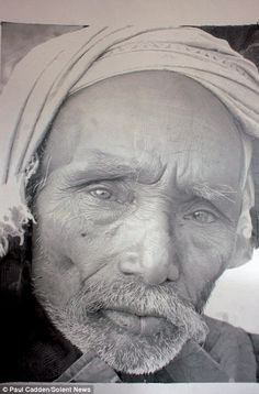 Amazing..to think that this isnt a photo..and it has been drawn in pencil..  Such great talent.