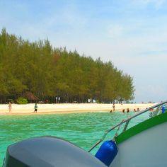 Bamboo Island on the way to Phi Phi