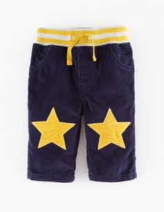 Star Patch Cord Trousers