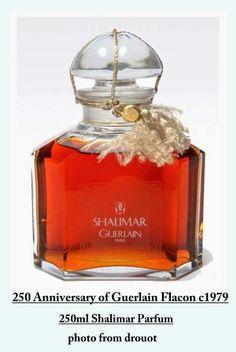 Guerlain Perfumes: 250 Year Anniversary of Guerlain - Shalimar Flacon...